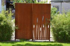 PARAS Sichtschutz - Stahl für den Garten und das Heim ...