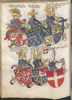 Grünenberg, Konrad: Das Wappenbuch Conrads von Grünenberg, Ritters und Bürgers zu Constanz um 1480 Cgm 145 Folio 125