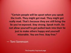 Speak your truth, live your truth....xoxo