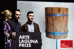Gian Giacomo Borin winners of Riva 1920 Business for Art Special Prize awarded by #Riva1920 #artelagunaprize