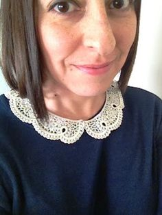 Silly Happy Sweet: Peter Pan Collar Necklace Available in My Shop! Limited Supply Left!