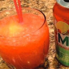 Pam's Malibu Slush Recipe - Asked for over & over. Ingredients   2 cups Malibu Rum  2 cups Peach Schnapps  1 large can of Pineapple Juice  1 can of frozen orange juice (no-pulp), thawed & mixed with 3cans of water  7UP, Sour, Sierra Mist or Sierre Mist Cranberry Splash