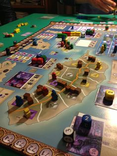 Madeira Pearl of the Atlantic - board game (prototype)