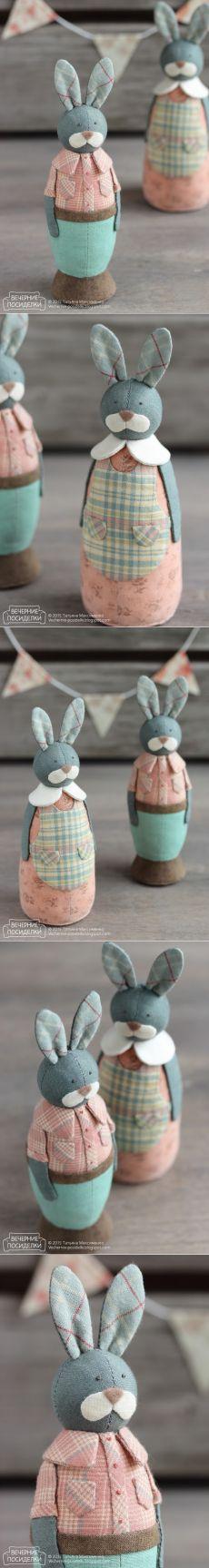 Los conejos conejitos primavera / resorte - veladas