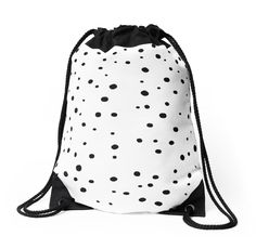 """""""Spots"""" Drawstring Bags by meandthemoon   Redbubble"""