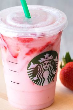 Guilt-free Starbucks! Looking for Starbucks drinks that are tasty, fun & low in calories? We've got 10 options rounded up right here - like the Pink Drink - from Hungry Girl!