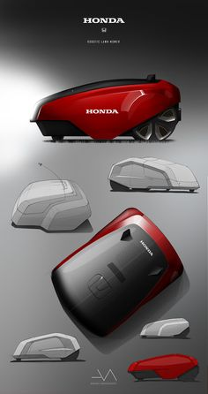 HONDA Robotic lawn mower on Behance