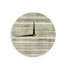 Josh Serafin Home Bound Blue Brown Wall Clock Products