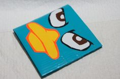O.M.G. Perry the platapus duct tape wallet!