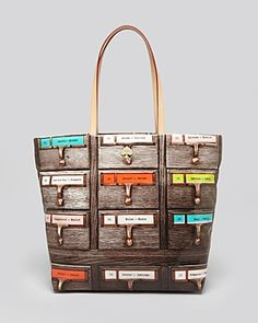 Kate Spade Required Reading Shopper - perfect for Librarians, Luddites & Bibliophiles.  I want this!
