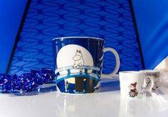 Todays Moomin mug.  Winter night.  A sought after mug from 2006.