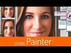 Portrait Face Painting with Portrait Photographer and Painter Master Helen Yancy Corel Painter, Traditional Art, Art Tutorials, Portrait Photographers, Paper Texture, Photoshop, Face, Artwork, Prints