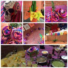 Margaritas y tacos ameritan una decoracion mejicana