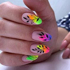 Top manicure 2020 to surprise everyone - isishweshwe Diy Nails, Cute Nails, Pretty Nails, Glitter Nails, Bling Nails, Bright Nails, Pastel Nails, Nail Swag, V Instagram