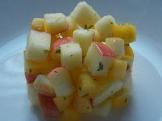 PALEO DIETA: Mangovo jablečný salát / Mango apple salad