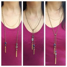 3 in 1 Necklace by ATELIER Gaby Marcos