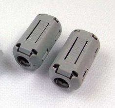 5pcs TDK 9mm Clip-on RFI EMI Filter Ferrite #Affiliate
