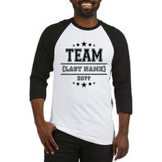 Team Family Baseball Jersey on CafePress.com