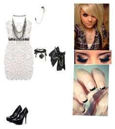 """""""Untitled #114"""" by punk-princess-i on Polyvore featuring ASOS, Lipsy, Miss Selfridge and GUESS"""