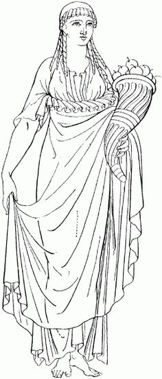 hermes Greek Goddess Coloring Pages Pinterest