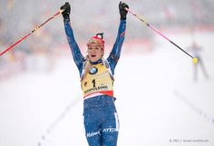 International Biathlon Union / Snowy Mass Start: Victory Number 10 for Soukalova