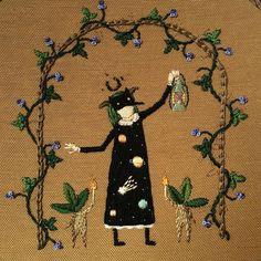 Resultado de imagem para cecile dachary embroidery