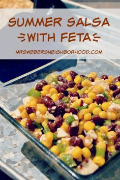 Summer Salsa with Feta app