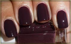 Essie - Carry On. SUCH a great fall/winter color.