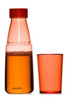 Aladdin Trinkflasche Crave 0,5 L - mit integriertem Trinkbecher