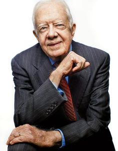Jimmy Carter. Would love to meet and talk to him.