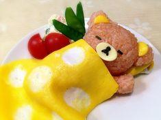 Cute Food Art, Food Art For Kids, Animal Themed Food, Kawaii Cooking, Japanese Food Art, Cute Bento, Good Food, Yummy Food, Le Diner