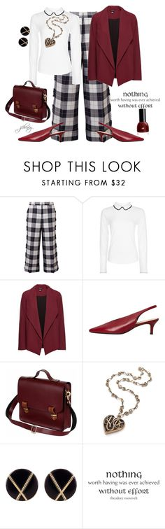 """""""Nothing Worth Having Was Ever Achieved Without Effort"""" by jfcheney ❤ liked on Polyvore featuring Thom Browne, Hobbs, MANGO, N'Damus, Botkier and WALL"""