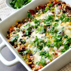WEIGHT WATCHER'S MEXICAN CASSEROLE – Healthy & Fit