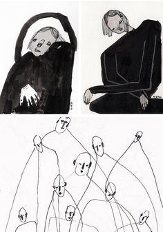 art by Karolina Koryl via HEIMELIG blog