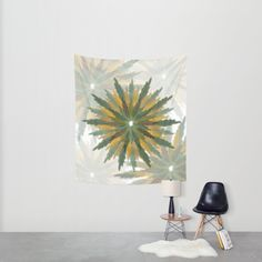 Leafy Wreaths Wall Tapestry by weivy Pattern Flower, Face Towel, Presents For Friends, Tapestry Wall, Wooden Shelves, Hand Towels, Duvet, Wreaths, Throw Pillows
