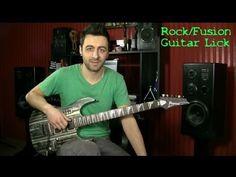 Rock/Fusion Guitar Lick