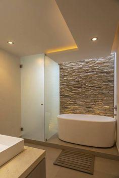 Bathroom of romero de la mora, modern- Badezimmer von romero de la mora , modern Bathroom of ROMERO DE LA MORA - House Design, Bathroom Interior Design, Home, Modern, House Interior, Contemporary Bathrooms, Modern Bathroom, Home Deco, Beautiful Bathrooms