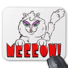 Miss Kitty mouse pad