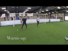This training session intentionally covers a multitide of goalkeeping skills. The main focus of the session is having quick feet whilst maintaining good uppe. Soccer Goalie, Soccer Games, Goalkeeper, Upper Body, Drill, Exercises, Coaching, Training, Goals