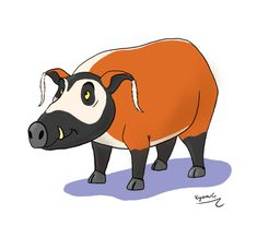 Red River Hog, Disney Characters, Fictional Characters, Character Design, Photo And Video, Drawings, Instagram, Art, Art Background