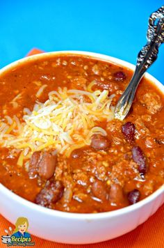 FLAVORFUL TURKEY CHILI #chili #soup #recipe