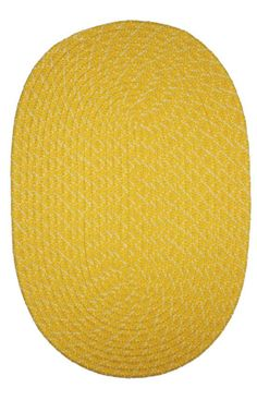 ITM Country DL01 Braided Outdoor Orange Rug