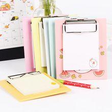 Serie de la fruta Memo Notas Adhesivas Mini Portapapeles Notesbook Programa Fácil de llevar Trabajo Planificador Suministros de Oficina Linda(China)