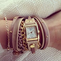 Ella Pretty: Beauty & Fashion blog. La Mer watch.