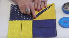 She Folds Back A Piece Of Fabric To Show You How To Make A Special Item You'll Want!   DIY Joy Projects and Crafts Ideas