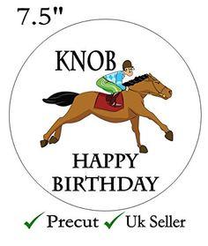Knob Jockey Adult Humour Edible Icing Cake Topper 7.5inch... https://www.amazon.co.uk/dp/B01N4LNQ3G/ref=cm_sw_r_pi_dp_x_i8uCybCCNR1SV