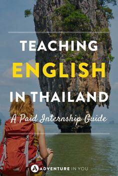 Tefl Thailand Dreaming Of Teaching English While Thailand Travel Tips, Asia Travel, Phuket, Travel Advice, Travel Guides, Teaching English Online, English Teachers, Work Abroad, Koh Tao