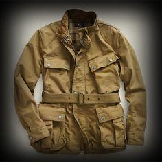 RRL メンズ ジャケット ダブルアールエル Cotton Canvas Jacket ジャケット-アバクロ 通販 ショップ-【I.T.SHOP】