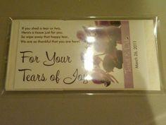 Tears of Joy Packets