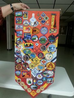 Cool idea for a commemorative cub scout keepsake